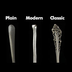 Flatware Style Comparison