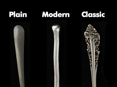 Different Styles of Restaurant Flatware