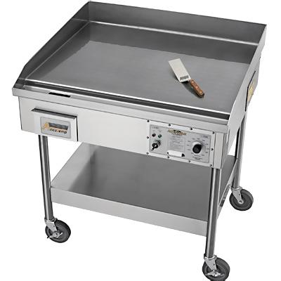 Commercial Kitchen Grills on Accu Steam Grill   48 1 4  W   Accutemp Electric Grills   Zesco Com
