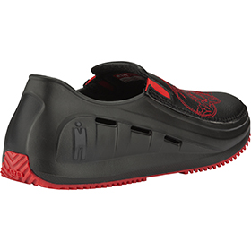 Mozo 3821-BLK - Red Skull Chef Shoes