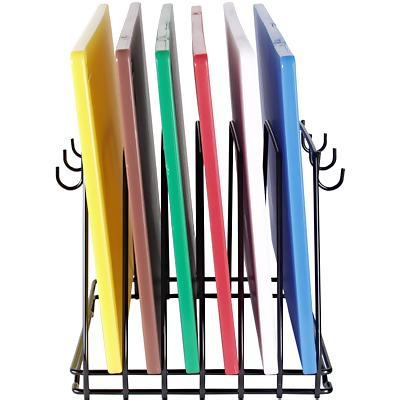winco cbk  cutting board rack  six  slots  color coded, Kitchen design