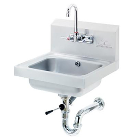 Splash Mounted Faucet Hand Sink