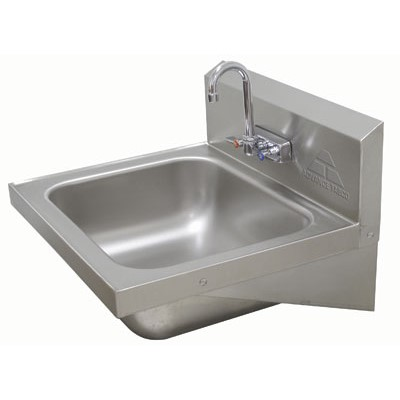 ... PS-45 - Hand Wash Sink - Wall Mounted - Hand Wash Sinks - ZESCO.com
