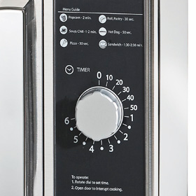 Amana Commercial Microwave Oven Detail Of Control Panel