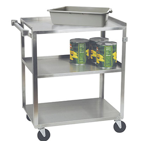 focus group 90312 utility busing cart 300 lb capacity