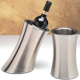 Brushed Stainless Wine Coolers