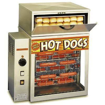 apw dr 2a mr frank broil a dog hot dog machine hot dog steamers. Black Bedroom Furniture Sets. Home Design Ideas