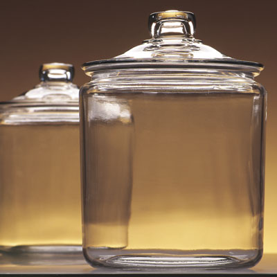 anchor hocking 85545r 12 gallon jar and glass cover - Decorative Glass Jars
