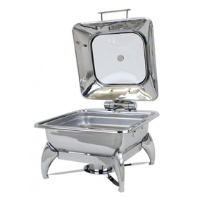 Smart Buffet 1A15601C Square Chafing Dish