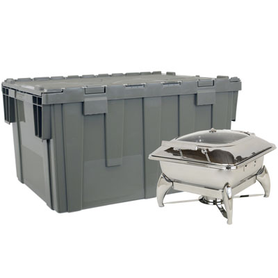 Square New Age Chafer with Cater-CRATE