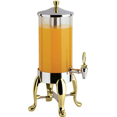 1.8 Gal. Dispenser with Brass Legs