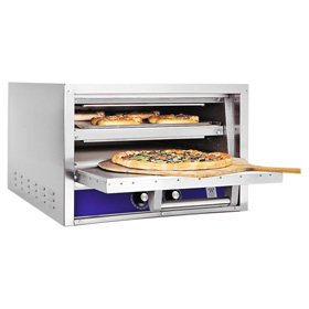 Best Commercial Countertop Pizza Oven : ... -Top Pizza Oven - Bricked Lined - Bakers Pride Ovens - ZESCO.com