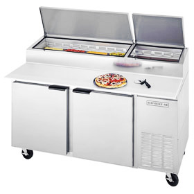 Beverage-Air DP67 Pizza Prep Table