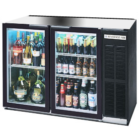 Beverage Air BB48GY-1-B Back Bar Cooler