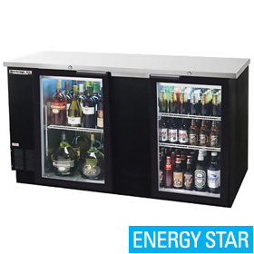 Beverage Air BB68G-1-B Back Bar Cooler