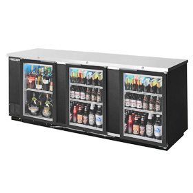 "Beverage Air BB94G-1-B 95"" Back Bar Cooler"