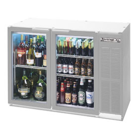 Beverage Air BB48GY-1-S Back Bar Cooler