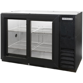 Beverage Air BB48GSY-1-B Back Bar Cooler