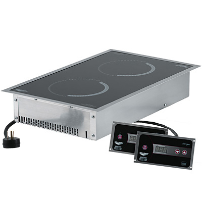 Attractive Dual Drop In Induction Range