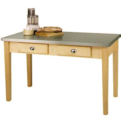 resource that stainless steel top kitchen table off much the