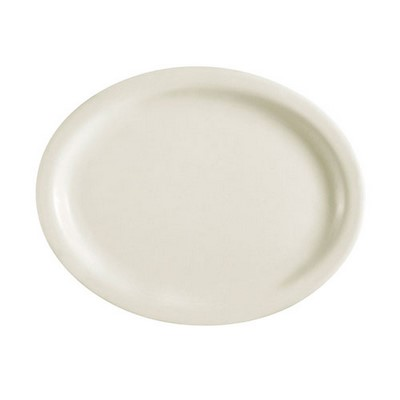 "12-1/2"" Narrow Rim Oval Platter"
