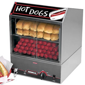 Countertop Hot Dog Steamer