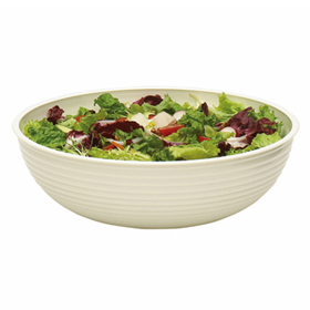 Cambro Round Ribbed Bowls, White