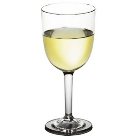 7fa343164db Cambro BWW10CW - 10-1/2 Oz. Aliso Wine Glasses - Clear Polycarbonate ...