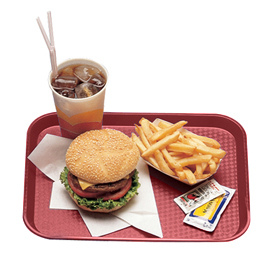 Fast Food Trays, Cranberry