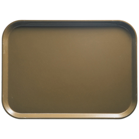 Cambro Fiberglass Tray, Bayleaf Brown