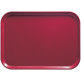 Cambro Fiberglass Tray, Cherry Red