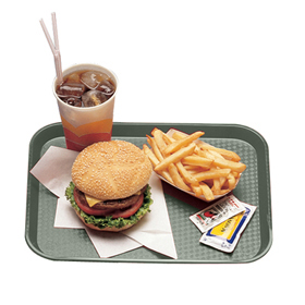 Fast Food Trays, Pearl Gray