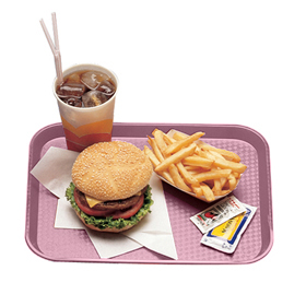 Fast Food Trays, Blush