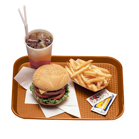 Fast Food Trays, Orange