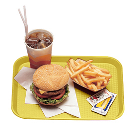 Fast Food Trays, Primrose Yellow