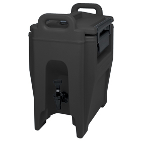 Cambro 2 1/2 Gallon Beverage Dispenser, Black