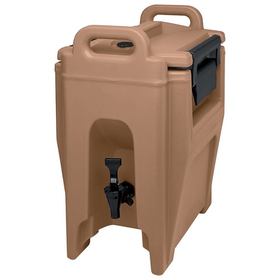 Cambro 2 1/2 Gallon Beverage Dispenser, Coffee Beige