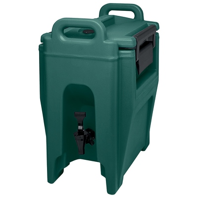 Cambro 2 1/2 Gallon Beverage Dispenser, Green