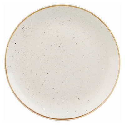 Churchill SWHSEV121 Plate - Barley White