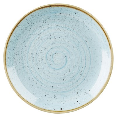 Churchill SDESEV121 Plate - Duck Egg Blue