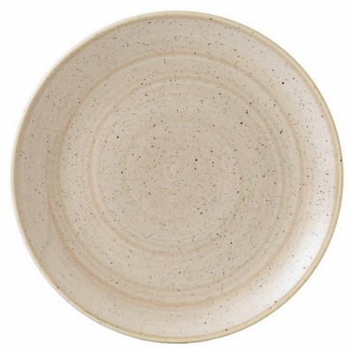 Churchill SNMSEV121 Plate - Nutmeg Cream