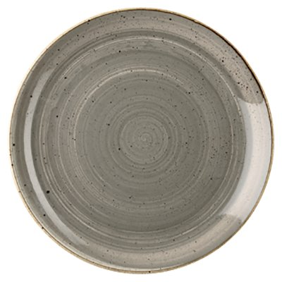 Churchill SPGSEV121 Plate - Peppercorn Grey
