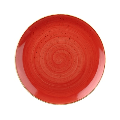 Churchill SBRSEVP81 Plate - Berry Red
