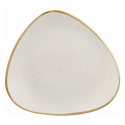 Churchill SWHSTR101 Triangle Plate - Barley White