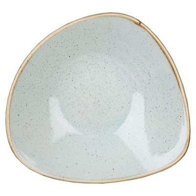 Churchill SDESTRB91 Triangle Bowl - Duck Egg Blue