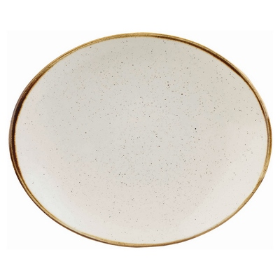 Churchill SWHSOP71 Coupe Plate - Barley White