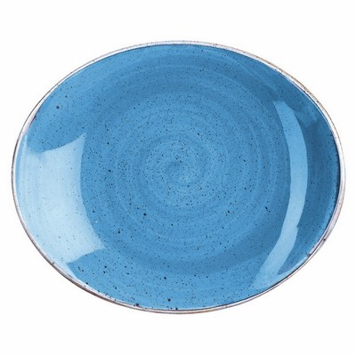 Churchill SCFSOP71 Coupe Plate - Cornflower Blue