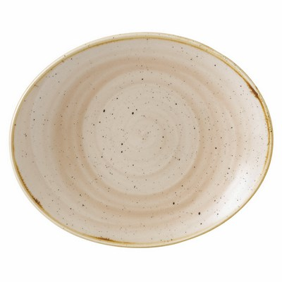 Churchill SNMSOP71 Coupe Plate - Nutmeg Cream