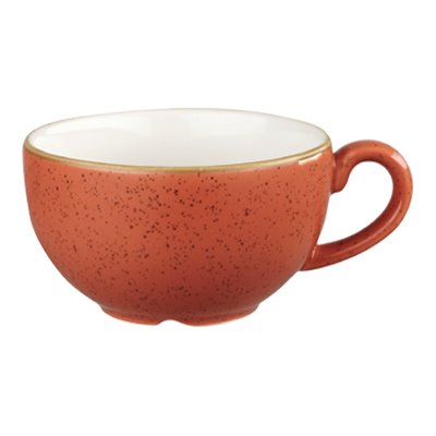 Churchill SSOSCB201 Cappuccino Cup - Spiced Orange