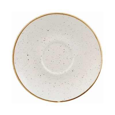 Churchill SWHSCSS1 Saucer - Barley White